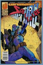 Solitaire #2 1993 Newsstand Break-Thru Jones Jeff Johnson Malibu Ultraverse