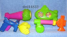 1993 McDonalds Nickelodeon Game Gadgets Complete Set, Lot of 4, Boys & Girls,3+