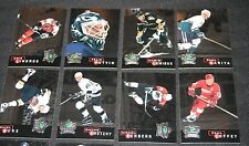 H15) 1995-96 Parkhurst Crown Collection Silver Series Complete Set of 16 Cards