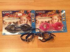 New listing 3 pairs of Speedo Jr. Swim Splasher Goggles Uv Protection