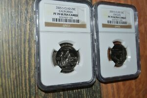 2005 P State Quarter West Virginia BU CN-Clad US Coin