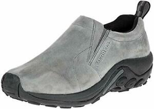 Men's 100% Suede Mesh Lining Jungle Moc Slip-On Shoe US 8 DM Castlerock