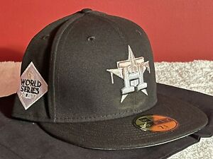 New Era Houston Astros Drip World Series 59Fifty Fitted Hat Size 7 3/8