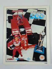July 1985 Michigan 500 International Speedway Collector Program Mario Andretti