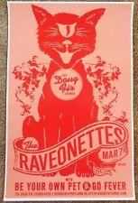 THE RAVEONETTES 2008 Gig POSTER Portland Oregon Concert