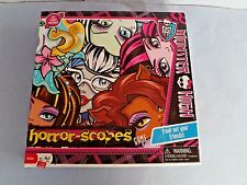 """""""MONSTER HIGH"""" PARTY GAME-FREAK OUT YOUR FRIENDS, A HORROR SCOPES GAME, 2012"""
