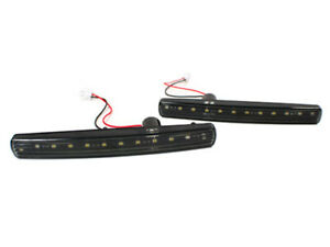 ASTON MARTIN DB9, DBS, VANTAGE, RAPIDE, VIRAGE LED FRONT BUMPER LIGHTS - BLACK