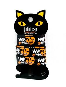 HALLOWEEN 3yd RIBBON on Black Cat Spools  - You choose Design