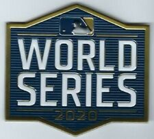 Official 2020 MLB World Series Patch Tampa Bay Rays vs Los Angeles Dodgers