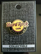 Hard Rock Cafe Barcelona - Spain Logo Pin