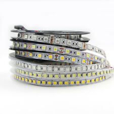 RGB LED Strip Lights Waterproof 5050 5M 12V 600 LEDs Tape string lamp white blue