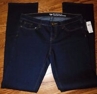 NWT Gap Women's Jeans Sexy Bootcut Fit 4 6 6L 8 8S 12 12L MSRP $59.99 Free Ship