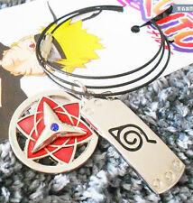 Naruto Shippuden Konoha Uchiha Sasuk Sharingan double Cosplay necklace pendant