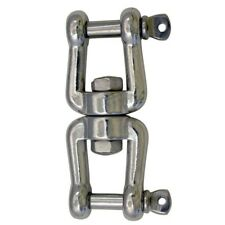 Type 316 Stainless Steel Marine Grade Boat Anchor Jaw/Jaw Swivel, 1/2