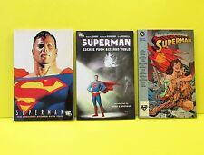 SUPERMAN GRAPHIC NOVEL TPB LOT - Greatest Stories, Escape Bizarro World, Death