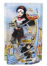 DC Super Hero Girls Katana Action Doll 12 Inch Toy Figure Gift Kids Children New