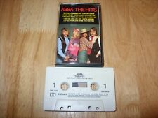 ABBA - THE HITS - AUDIO CASSETTE TAPE Pickwick 1987