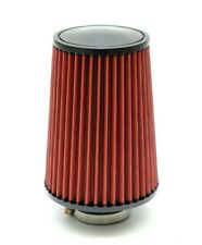 """1320 PERF FAB 3.5"""" Universal air filter cone reusable red Tall air filter"""