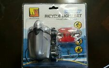 Wellmax Bicycle Light Set-Front Light & Flasher-FREE SHIPPING!