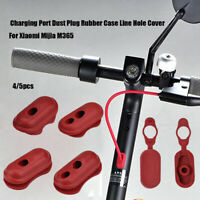 Parts Dust Plug Case Scooters Replacement Charge Port Coverfor XIAOMI M365