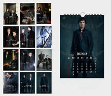 Sherlock Holmes Watson Moriarty (29*20cm) 12 sheets wall calendar
