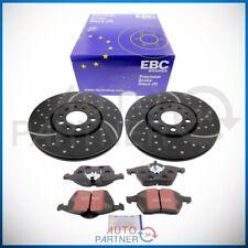 EBC für VW Golf 3 GTI VR6 Turbo Groove Bremsscheiben & Blackstuff Beläge Ø288mm