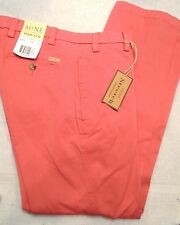 MINE Brand Stretch Cotton Blend Nantucket Red Pants NWT 36 x 34 $125