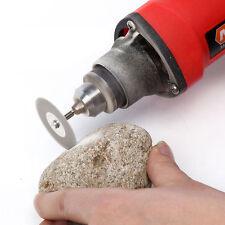 10 PCS 22mm Emery Diamond cutting blades Drill Bit+2 Mandrel for Dremel Tool set