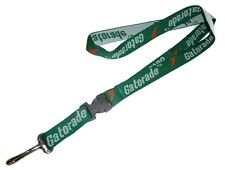 Vintage Gatorade Lanyard - Detachable Green w/ Lightning Bolt - ID Badge Holder