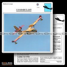 #096.12 CANADAIR CL 215 T (Hydravion) - Fiche Avion Airplane Card