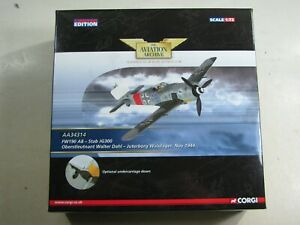 610  Corgi Aviation Archive AA34314 FW190 A8 Stab JG300 Walter Dahl Flugzeug