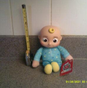 CoComelon JJ Bodysuit 8 inch Plush Doll.