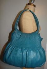 BODHI Beautiful Blue Leather Hobo Shoulder Bag
