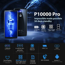 "Blackview P10000 Pro 6"" 4G Smartphone Android7.1 11000mAh 4GB+64GB Face ID Móvil"