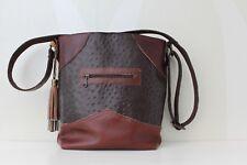 Leather Bag VanStoel#197 BROWN