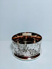 Wine Coaster - Silver plated - F.B. Rogers Silver Company Wine bottle holder