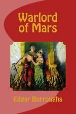 Warlord of Mars by Edgar Rice Burroughs (2014, Paperback)