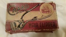 Vintage Hair Clipper Chard' No 50B  Browns Clipper Co (1939) Ltd in Original Box