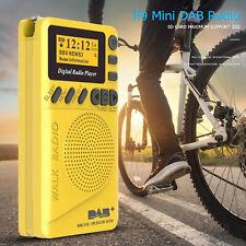 Small Portable Mini Pocket DAB/DAB+ Digital Radio With MP3 Player FM Radio Pro
