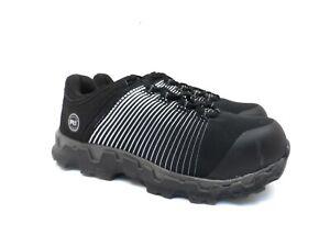 Timberland PRO Women's Powertrain Sport Alloy-Toe Work Shoes A1WE6 Black 8.5W