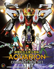 ANIME DVD Aquarion + Aquarion Evol + Aquarion Logos + Movie + 2 OVA + FREE ANIME