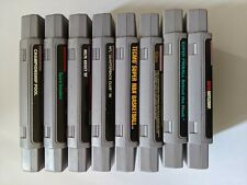 8x Super Nintendo Entertainment System (SNES) Games [Tested & Working]