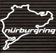 Nurburgring Decal Funny JDM BMW honda VW race car tablet track window sticker