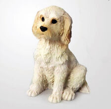 LABRADOODLE TINY ONES DOG Figurine Statue Pet Lovers Gift Resin Cream