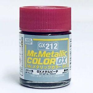 Mr. Hobby Mr Metallic Color GX212 Metal Peach 18ml