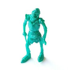 Figurine Collection Monsters Super Monstruos Yolanda 1992 Soldier Skeleton Green