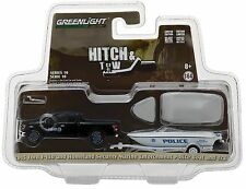 1:64 GreenLight *HITCH & TOW 10* Homeland Security Ford F150 w/Boat & Trailer