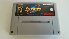 Starwing competition original German version Super Nintendo SNES ultra Rare