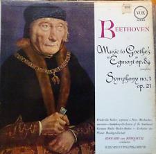 "Beethoven Music to Goethe's ""egmont"" op.84 VOX PL 10.870"