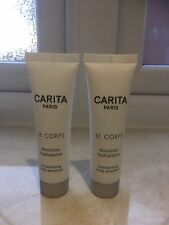 CARITA LE CORPS Moisurising Body emulsion 2 x 30ml